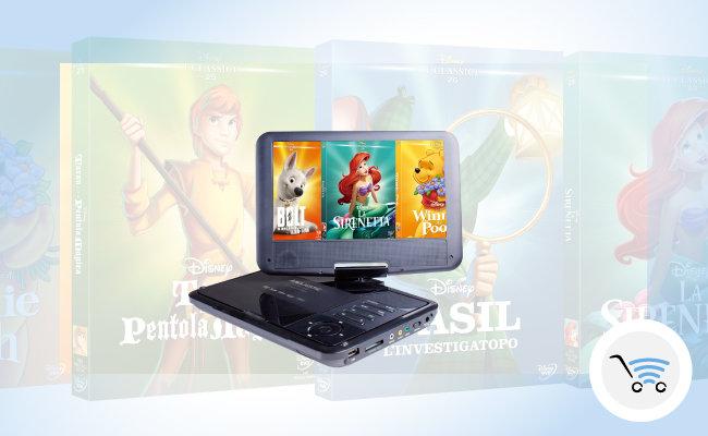 lettore dvd portatile per bambini