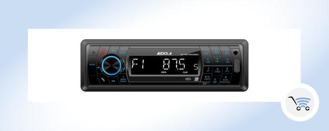 Autoradio con funzione bluetooth Audiola e Majestic di areagroup