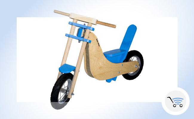 giocattoli in legno Baby Moto