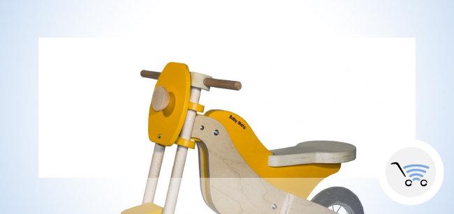 Giocattolo in legno Baby Moto